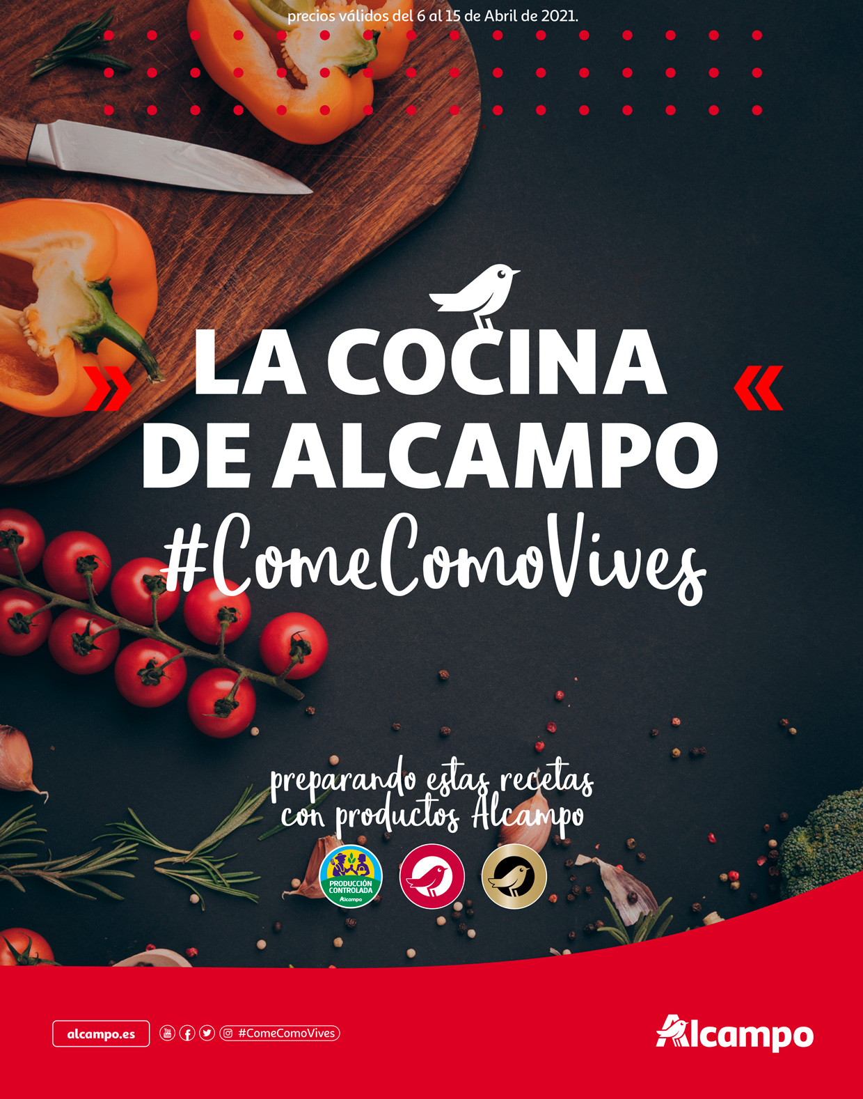 #ComeComoVives