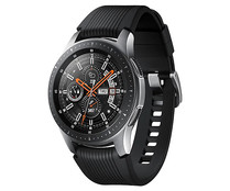 "Smartwatch SAMSUNG Galaxy Watch S4 SM-R800NZSAPHE plata 46mm, pantalla 1.3"", GPS, NFC, Wi-Fi, Bluetooth."