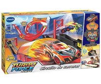 Circuito de carreras Turbo Force Racers con coche incluido, VTECH.