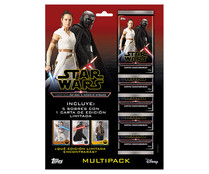Multipack de cartas (5 sobres) de Star Wars El Ascenso de Skywalker, STAR WARS.