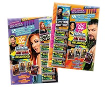 Multipack WWE con 36 cartas, TOPPS.
