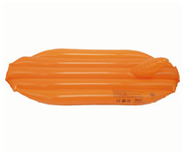 Tabla de surf hinchable color naranja, 71 cm., EURASPA