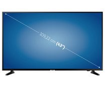 "Televisión 109,22 cm (43"") LED SAMSUNG 43NU7025 4K, SMART TV, WIFI, TDT T2, USB reproductor y grabador, 2HDMI, 1300HZ."