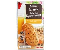 Galleta de cereales con chocolate y miel AUCHAN 400 gr,