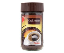 Café soluble natural AUCHAN 100 gr,
