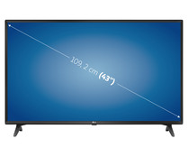 "Televisión 109,22 cm (43"") LED LG 43UM7050 4K, HDR, SMART TV, WIFI, TDT T2, USB reproductor y grabador, 3HDMI, 1600HZ."