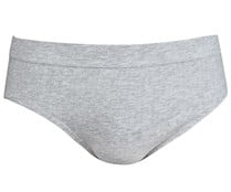 Calzoncillo slip IN EXTENSO, color gris, talla L.