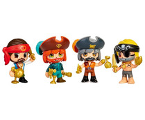 Surtido de figuras piratas PINYPON ACTION.