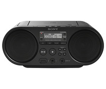 Reproductor de CD portátil SONY ZS-PS50, radio AM/FM, USB, Audio-IN.
