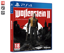 Videojuego Wolfestein 2 The New Colossus para PlayStation 4. Género: Acción. PEGI: +18