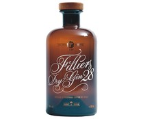 Ginebra tipo dry FILLERS DRY GIN 28 botella de 50 cl..