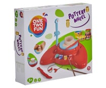 Torno de alfarero para moldear ONE TWO FUN.