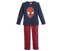 Pijama largo de niño micropolar SPIDERMAN, talla 8.