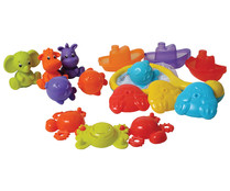 Set animales mar para baño, PLAYGRO.