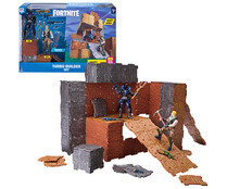 Pack 2 figuras Jonesy & Raven y set construcción Fortnite. TOY PARTNERS.