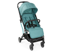 Silla de paseo hasta 15kg, plegable, 4 posiciones, color turquesa, CHICCO Trolley Me Emerald.