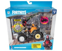 Quad con figura de 10cm y arma, Quadcrasher FORTNITE.