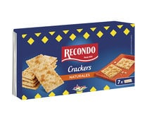 Crackers naturales RECONDO 250 g.