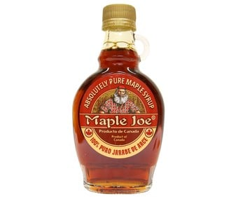 Jarabe de arce (grado A) MAPLE JOE 250 g.