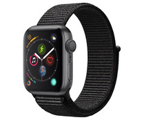Smartwatch APPLE Watch Series 4 MU672TY/A, GPS, caja de aluminio de 40mm., gris espacial con correa deportiva Loop negra.
