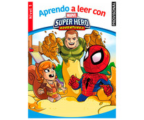 Aprendo a leer con Marvel Super Hero Adventures nivel 1, VV. AA. Género: infantil. Editorial Marvel.