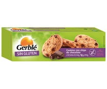 Galletas cookies de Chocolate Sin Gluten GERBLE 150 g.