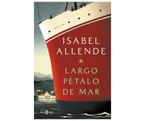 Largo pétalo de mar, ISABEL ALLENDE. Género: narrativa. Editorial: Plaza & Janes.