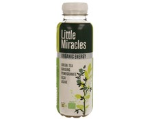 Bebida de té  bío verde y ginseng LITTLE MIRACLES 330 ml.