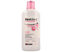 Enjuague bucal sin alcohol para la mejora de la hipersensibilidad dental ISDIN Bexident 500 ml.