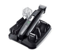 Set de arreglo personal 7 en 1 REMINGTON PG6130 Groom Kit, sin cable, 5 peines fijos de distintas longitudes.
