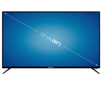 "Televisión 127 cm (50"") LED SELECLINE 50S18 4K, TDT HD, USB reproductor, 4HDMI."