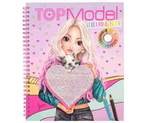 Top Model: Libro para colorear, VV. AA. Género: actividades, colorear. Editorial Depesche.