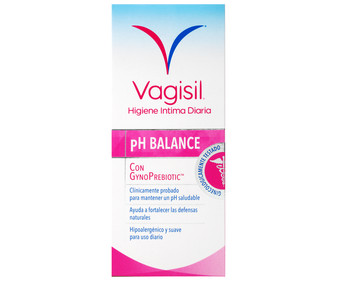 Gel de higiene íntima con gynoprebiotic VAGINESIL pH balance 250 ml.