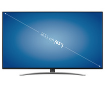"Televisión 165,1 cm (65"") LED LG 65SM8600 4K, SMART TV, WIFI, BLUETOOTH, TDT T2, USB reproductor y grabador, 4HDMI, 3300HZ."