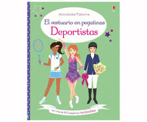 Deportistas, FIONA WATT. Género: infantil. Editorial: Usborne Publishing