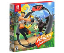 Videojuego Ring Fit Adventure para Nintendo Switch. Género: acción, fitness. PEGI: +7.