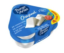 Queso fresco BURGO DE ARIAS tarrina de 72 g. pack de 6 uds.