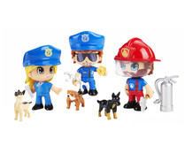 Pack de figuras de equipos especiales, PINYPON ACTION.