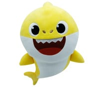 Peluche musical BABY SHARK.
