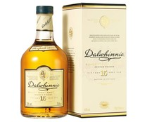 Whisky single malt 15 años DALWHINNIE botella de 70 cl.