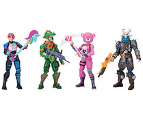 Pack de 4 figuras de Fortnite. TOY PARTNER.