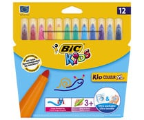 12 rotuladores XL BIC KIDS.