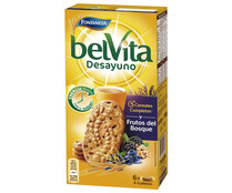 Galleta de cereales con frutos del bosque BELVITA 300 gr,