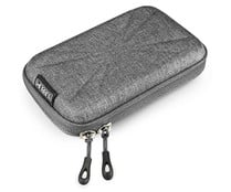 "Funda para disco duro 2,5"" SUBBLIM HDD Business Case Grey, exterior rígido, bolsillo interior."