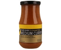 Salsa curry picante suave TIGER KHAN 425 grs