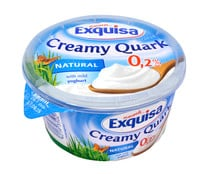 Quark natural con solo 0.2% de materia grasa EXQUISA 500 g.