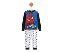 Pijama largo para niño SPIDERMAN, talla 8.