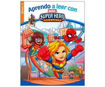 Aprendo a leer con Marvel Super Hero Adventures nivel 3, VV. AA. Género: infantil. Editorial Marvel.