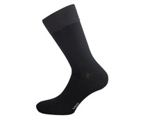 Calcetines de hombre DIM Soft Touch, color negro, talla 39/42.