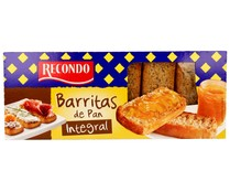 Barritas de pan integrales RECONDO 155 gr,